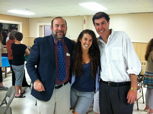 20120603-2012-06-03Howie , Hannah Finkelstein & Mike Weiner