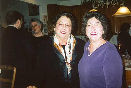 Rabbi Lewis, ? and Helen Mattson