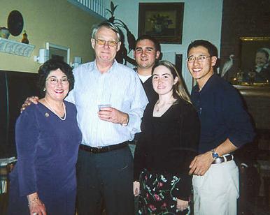 Helen, John, Michael and Jennifer Mattson and Michael McGraw
