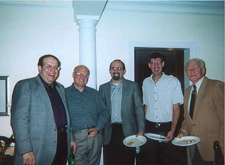 Rich Eisenberg, Jim Arvesen, ? , Steve Braunstein, ?