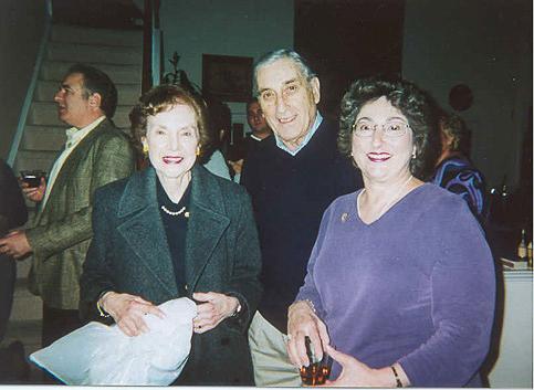 Brian Friedlander, Cynthia Bloom and Helen Mattson