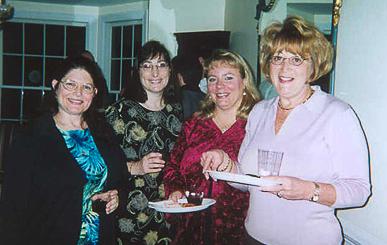Judy Schroeder, Marsha Gross, Suzanne Colby, Laverne Pollak