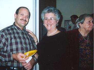 Ron Seidorf and Rabbi Ellen Lewis