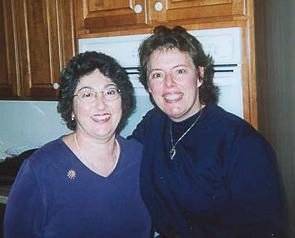 Helen Mattson and Sandy Seidorf