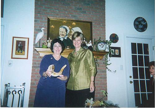 Helen Mattson and Gwen Nagorsky