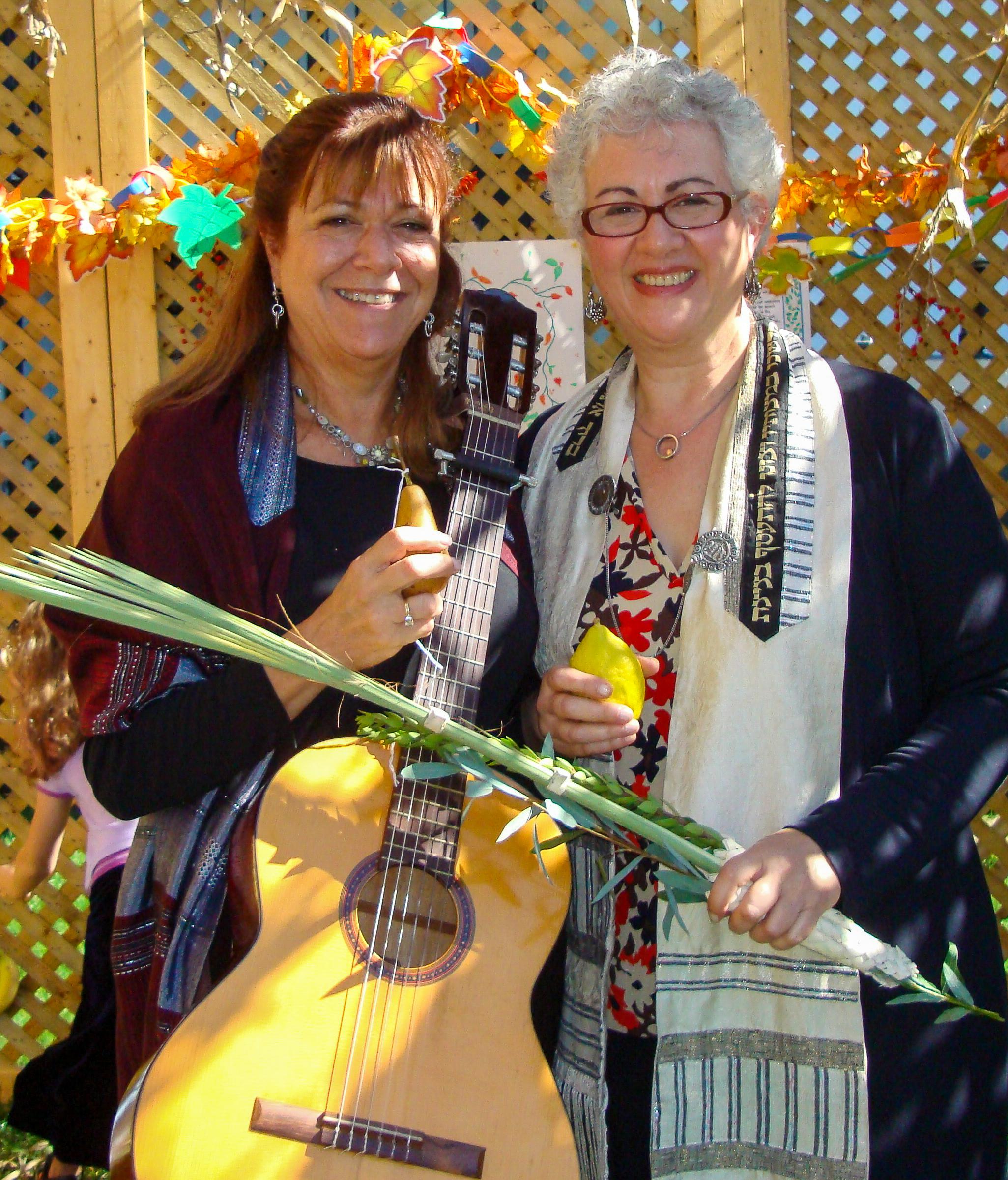 Cantor Marci Kadin and Rabbi Ellen Lewis