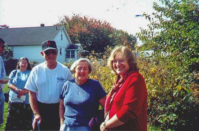 Stanley and Rona Schick with Sharon Herson