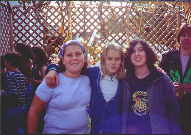 Leah, Rikki and Hannah