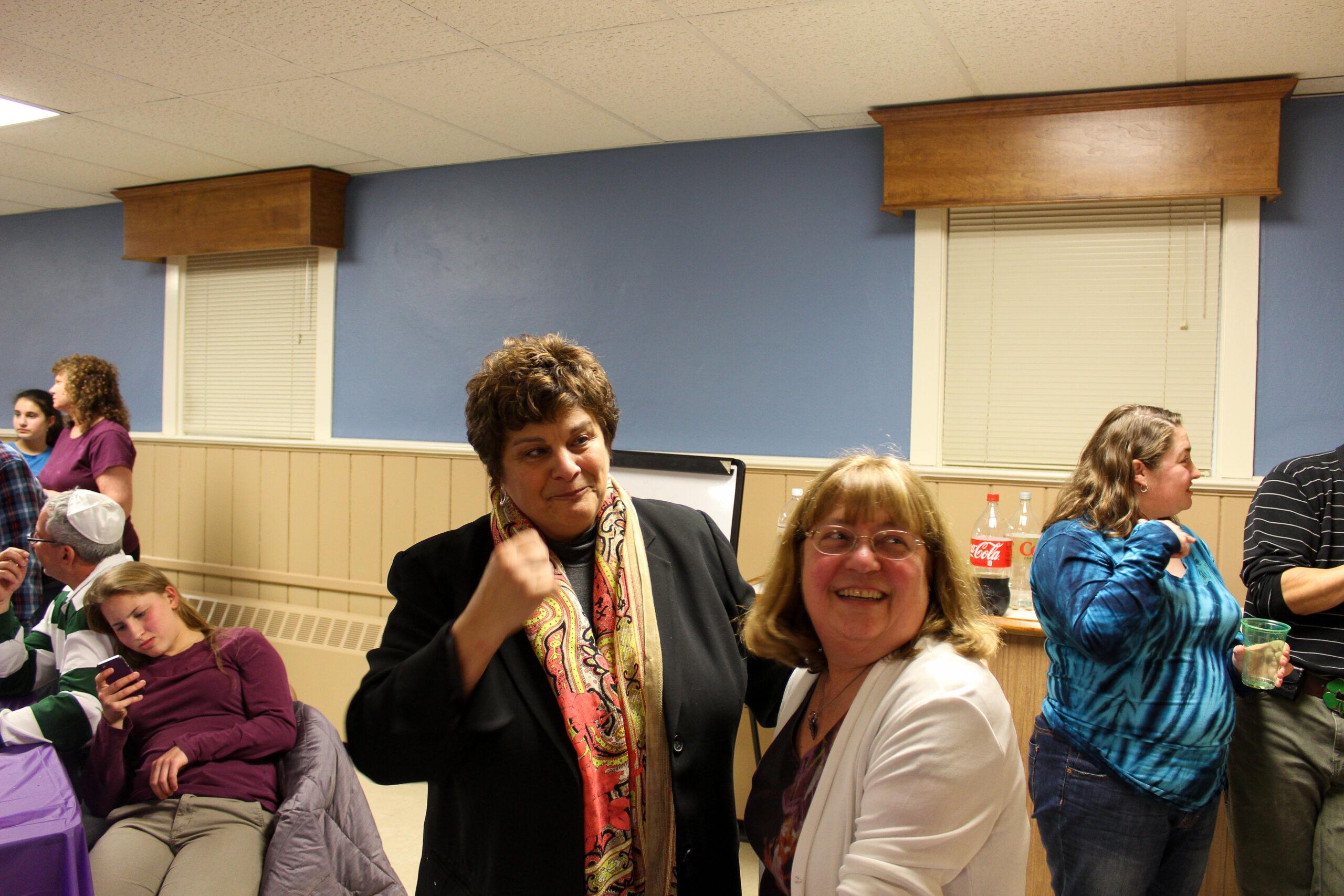 Jeannie Berkowitz and Iris Hirsch