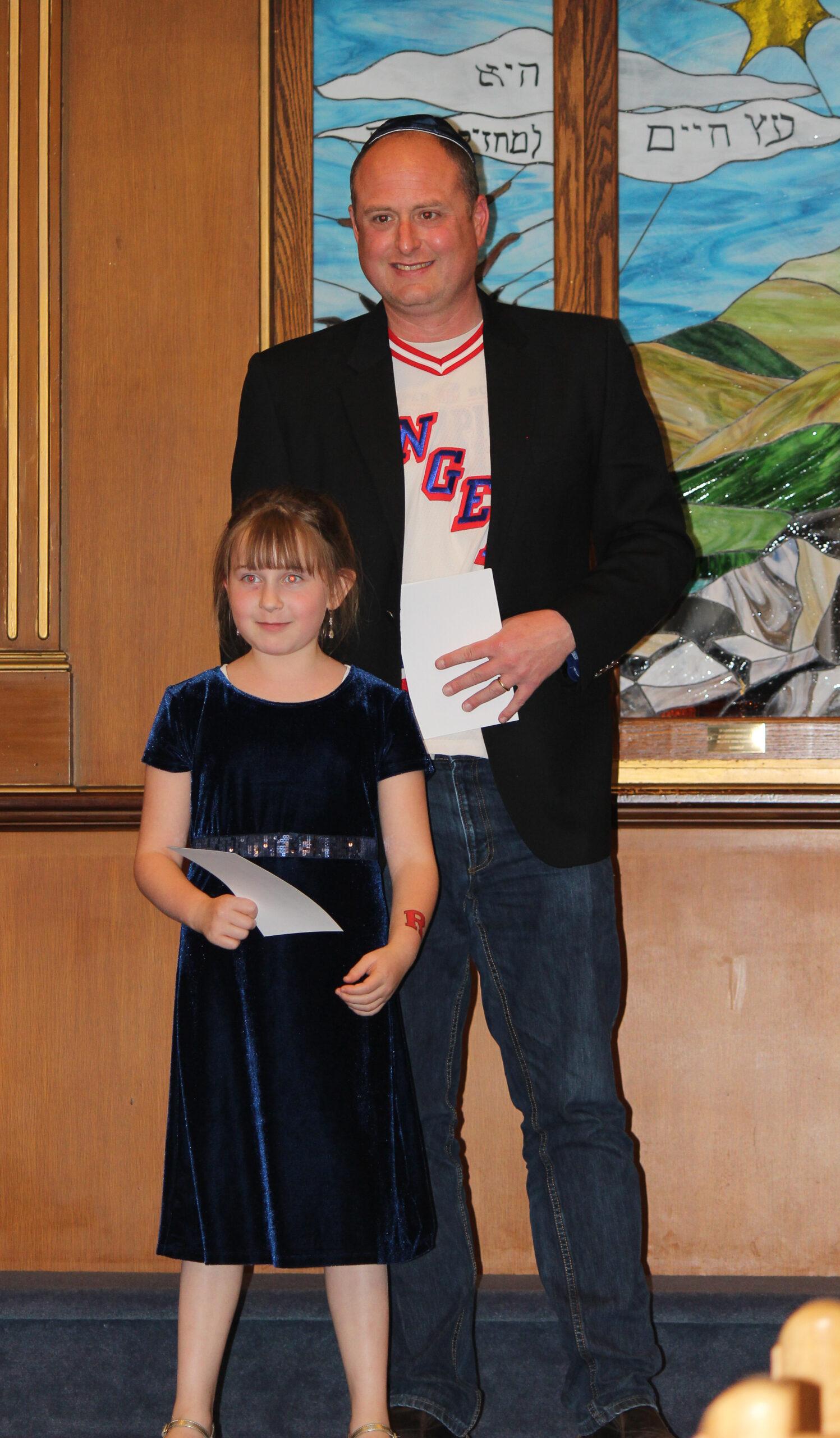 Ashley with Brett Schaeffer