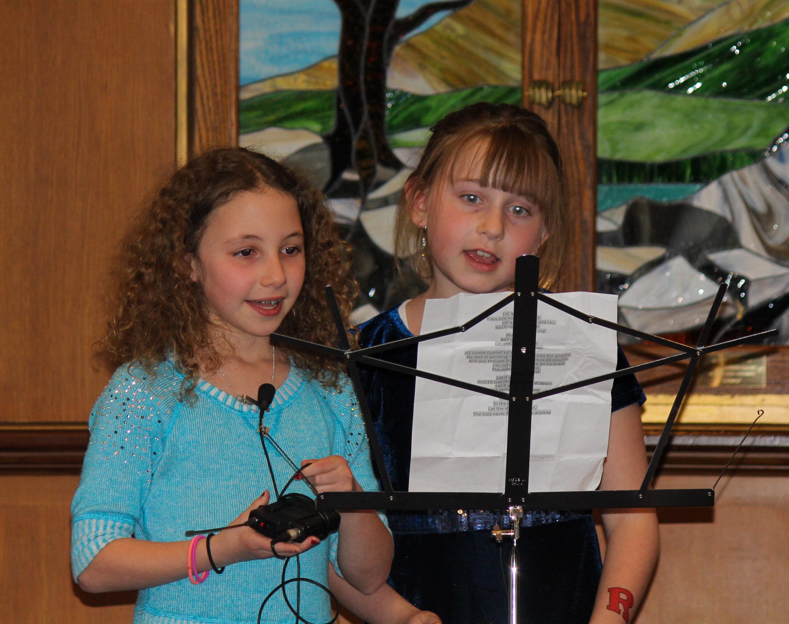 Molly and Ashley